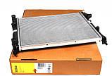 Радиатор охлаждения двигателя на Renault Trafic / Opel Vivaro 1,9dCi (+AC) с 2001... NRF (Дания) NRF58332, фото 2