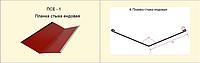 Планка стыка ендовая ПСЕ-1