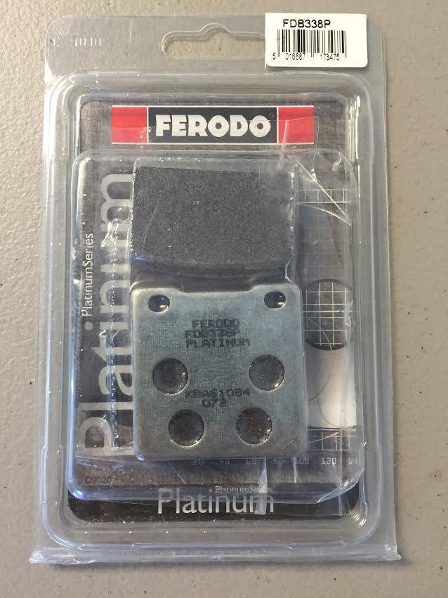 Комплект гальмівних колодок FERODO FDB338P