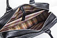 Кожаная мужская деловая сумка Blamont 026 черная, фото 8