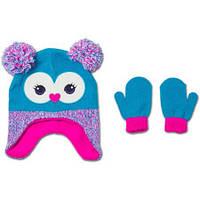 Шапка с перчатками 2-5 лет