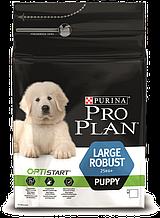 Корм Purina Pro Plan (Пурина Про План) Puppy Large Robust для щенков крупных пород (курица), 12 кг