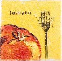 Декор Streza Tomato W
