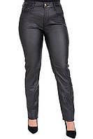 Женские брюки под кожу большого размера 50-56