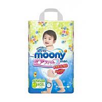 Moony–трусики Air Fit M (6-10) кг, 58 шт. для детей начинающих ходить