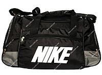 Спортивна сумка в стилі Nike чорна (D-01)