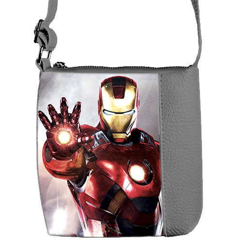 Детская сумка для мальчика Mini Mister с принтом Айронмен