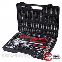 Набор инструментов 1/2» и 1/4» INTERTOOL (108 предметов) ET-6108