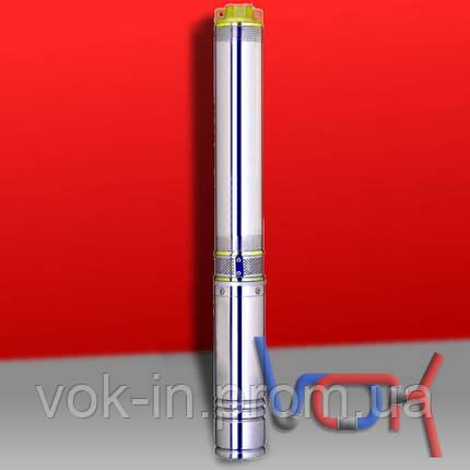 Насос погружной Aquatica (dongyin) 1,5 кВт (Н-195 м, Q-45 л/мин, Ø-75 мм, кабель 100 м), фото 2