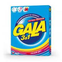 Стиральный порошок Gala 3в1 Яркие цвета 400 г для ручной стирки