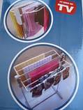 Сушарка для білизни підлогова Multifunctional clothes rack 76Х28Х50 см, фото 2