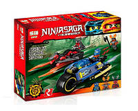 Конструктор Lepin серия NINJA SAGA / Ниндзя  06043 Пустынная молния (аналог Lego Ninjago 70622)