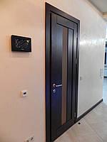 Двери прямые шпонированные