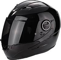 Мото шлем Scorpion EXO-490 черный, XL
