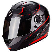 Мото шлем Scorpion EXO-490 Vision black\neon red, L