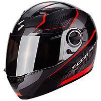 Мото шлем Scorpion EXO-490 Vision black\neon red, S