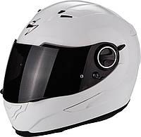 Мото шлем Scorpion EXO-490 белый, XS