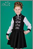 Красивое платье для школьницы. Размер 140, 146, 152.
