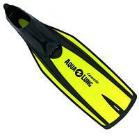 Ласты для подводного плавания AquaLung Caravelle; жёлтые; 44/45