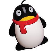 """Компьютерная Мышка """"Пингвин"""", черная, высокое качество"""