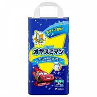 Moony – трусики ночные L (9-14) кг, 30 шт. для мальчика