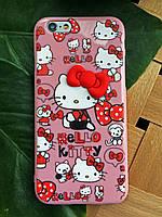 Силиконовый чехол Hello Kitty iPhone 6S/6