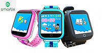 Детские умные смарт часы Smart Baby Watch Q100s (Q750) с GPS трекером (3 цвета). Русский язык! Киев