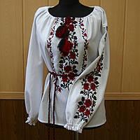Жіноча вишиванка довгий рукав Олена
