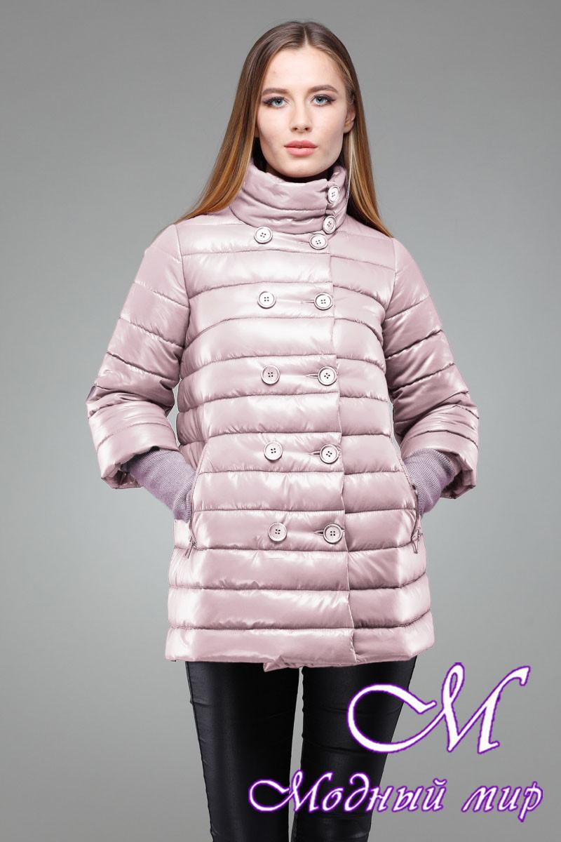 e102f991af56 Женская демисезонная куртка-трапеция (р. 42-50) арт. Ирада, цена 1 ...