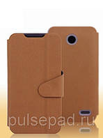 Чехол-книжка MOFI для смартфона Lenovo A820 (Brown)