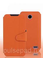 Чехол-книжка MOFI для смартфона Lenovo A820 (Orange)