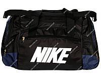 Дорожня чоловіча сумка чорного кольору (D-02)