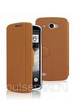 Чехол-книжка MOFI для смартфона Lenovo S920 (Brown)