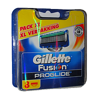 Сменные кассеты Gillette Fusion PROGLIDE Power 8 шт (Швейцария,качество гарантируем)