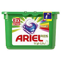 Капсулы Ariel PODS Color & Style 15 шт Автомат