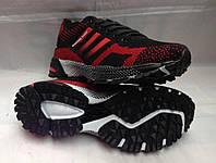 """Мужские кроссовки """"Adidas"""" №9305-6 (красный) , фото 1"""
