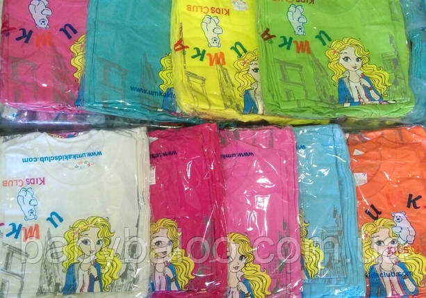 """Модная детская футболка """"Девочка в городе""""( от 3 до 7 лет), фото 2"""