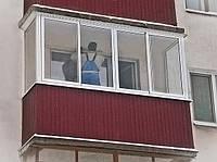 Обшивка балкона, лоджии, утепление балконов, остекление балконов под ключ.