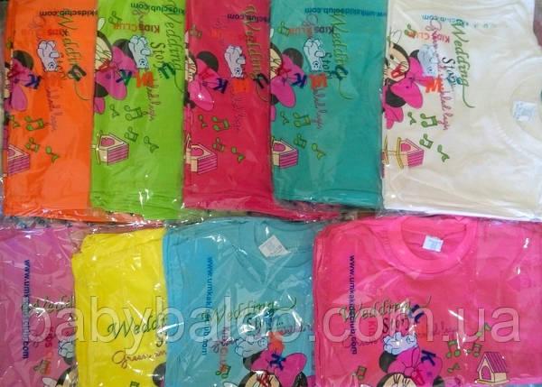 """Модная футболка для девочки """"Минни Маус""""(от 1 до 3 лет), фото 2"""