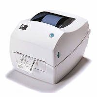 Термотрансферный принтер, Zebra TLP2844, Этикеточный, 104мм, печать штрих-кода , б/у