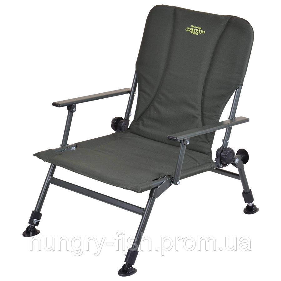 Кресло карповое Carp Pro компактное с подлокотниками