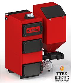 Амика ГРИН ЭКО ( Amica GREEN ECO) бункерные котлы длительного горения с автоматической подачей топлива 25 кВт