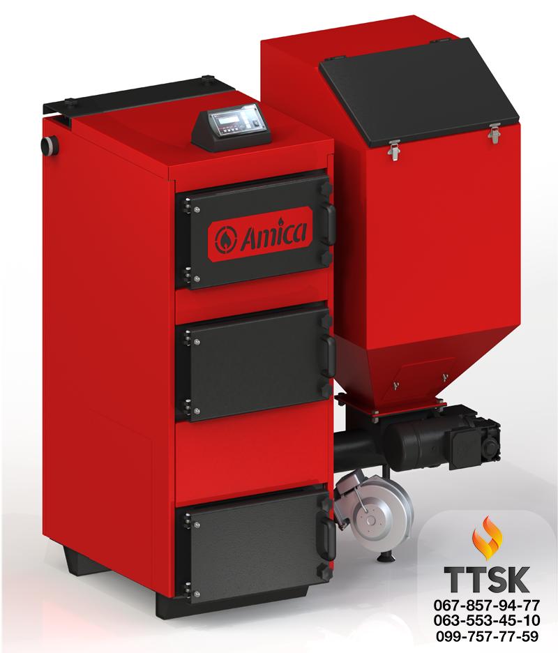 Амика ГРИН ЭКО ( Amica GREEN ECO) бункерные котлы длительного горения с автоматической подачей топлива 120 кВт
