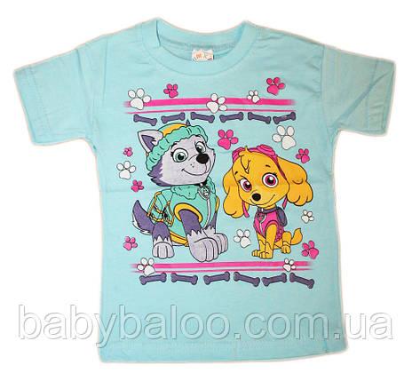 """Модная футболка для девочки """"Щенячий патруль""""(от 1 до 3 лет), фото 2"""
