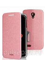 Чехол-книжка MOFI для смартфона Lenovo S820 (Pink)