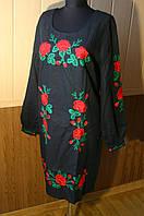 Жіноча вишиванка платье Маки красные