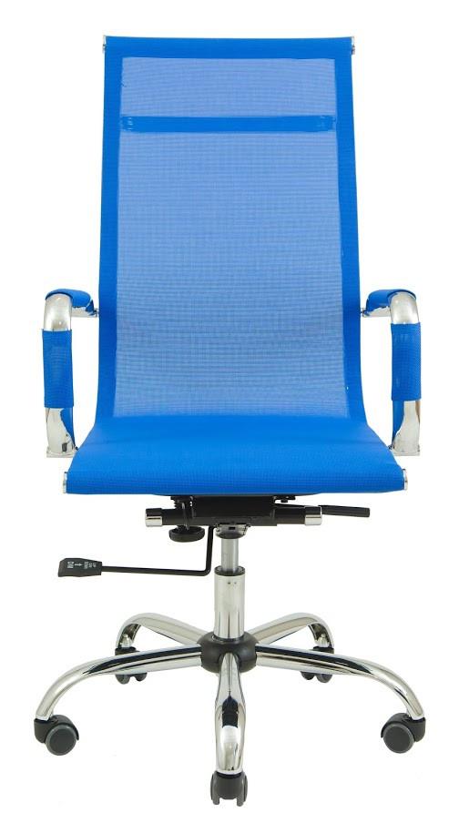 Кресло Slim Net HB сетка синяя
