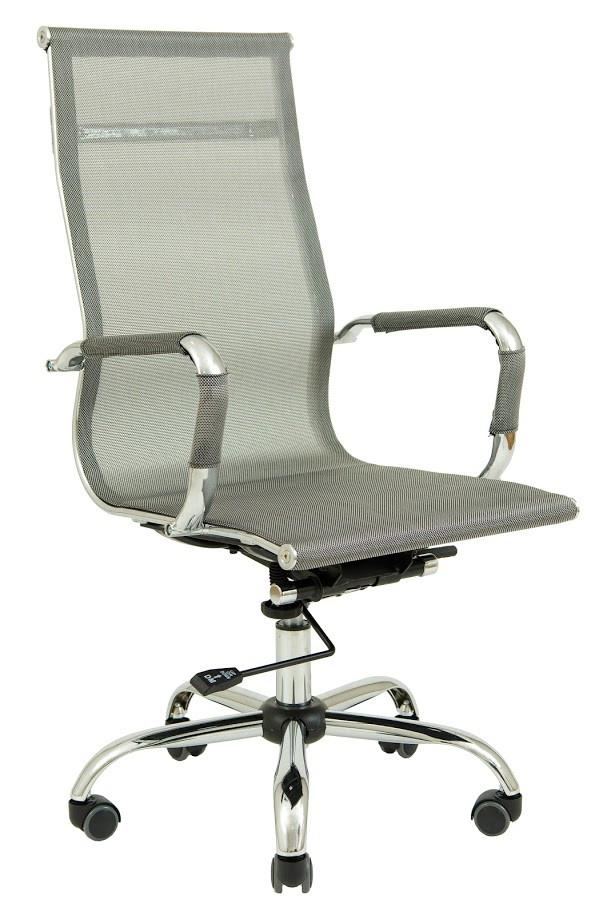 Кресло Slim Net HB сетка серая (фото 2)