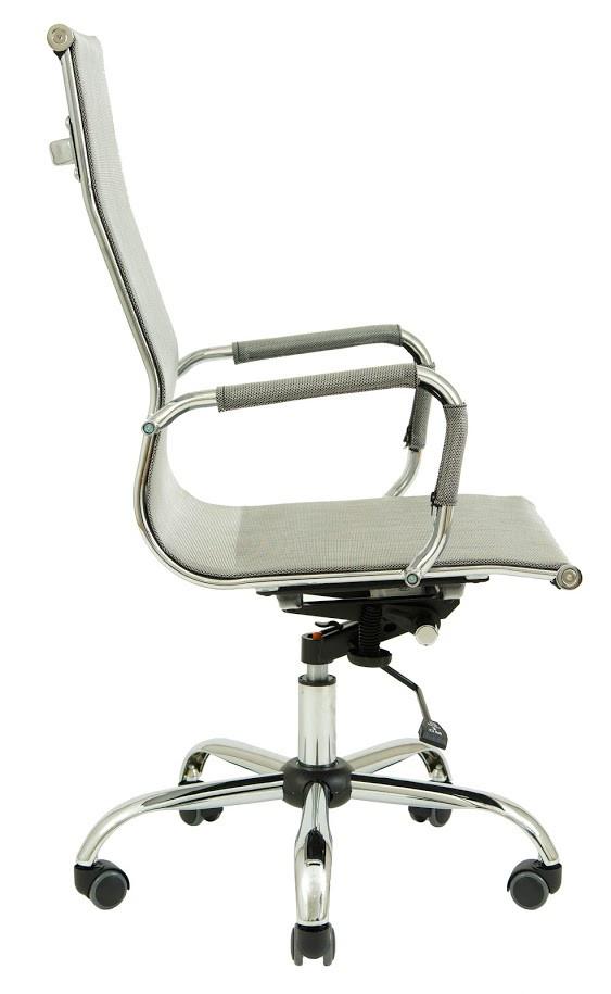 Кресло Slim Net HB сетка серая (фото 3)