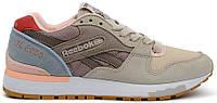 Женские кроссовки Reebok GL 6000 (Рибок) бежевые